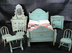 shabby chic dollhouse furniture