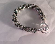 Byron's Kumihimo bracelet with Delicas