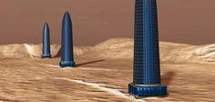 """Três """"torres artificiais"""" foram encontradas em Marte, diz investigador"""