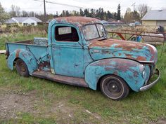 old ford truck  1941 -