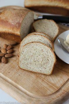 Almond Flour Bread   chezcateylou.com