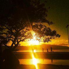 Amanhecer na Praia de Coqueiros- Foto- Guto Kuerten