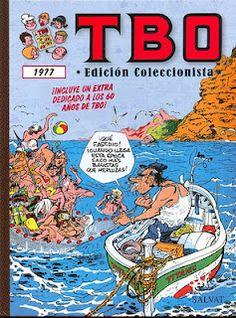 TBO 1977 (Incluye un extra dedicado a los 60 años de TBO).    Contenido:  TBO Extraordinario de Vacaciones.  Número extraordinario 60 años de TBO 1917-1977.  TBO extra dedicado al mundo del automóvil.