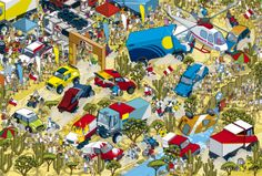 Top Gear Where's Stig? Motorsport Madness book by Rod Hunt, via Behance