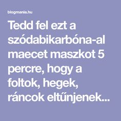 Tedd fel ezt a szódabikarbóna-almaecet maszkot 5 percre, hogy a foltok, hegek, ráncok eltűnjenek az arcodról minél hamarabb! – blogmania.hu Ale, Decor, Decoration, Decorating, Ale Beer, Dekorasyon, Dekoration, Ales, Home Accents