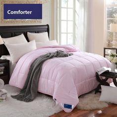 Skin Friendly Wool Comforters For Winter Elegant Pink Comforter And Quilt Queen Size
