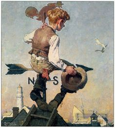 Norman Rockwell Paintings Gallery in Chronological Order Peintures Norman Rockwell, Norman Rockwell Art, Norman Rockwell Paintings, Illustration, Painting Gallery, Oil Painting Reproductions, Famous Artists, Oeuvre D'art, Artist Art
