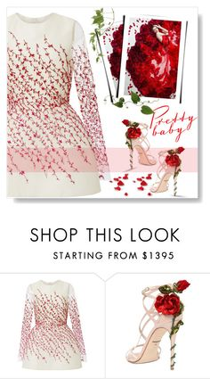 """""""Pretty Baby..."""" by desert-belle ❤ liked on Polyvore featuring Monique Lhuillier, Dolce&Gabbana, Zuhair Murad, dolceandgabbana, MoniqueLhuillier and plyvore"""