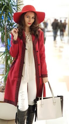 Stiletto and Red Lips - stilettoandredlips Red Lips, Girl Fashion, Coat, Girls, Jackets, Women's Work Fashion, Toddler Girls, Down Jackets, Sewing Coat
