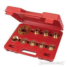Router Guide Bush Set Adaptor Template Plate Included Kit 10 Piece • £17.99