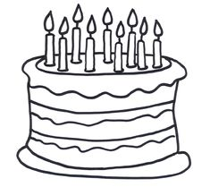 birthday cake coloring page 2012 01 04