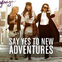 Say yes to new adventures. Watch the new series YOUNGER coming to TV Land March 31 10/9C! From the creator of Sex and The City, 'Younger' stars Sutton Foster, Hilary Duff, Debi Mazar, Miriam Shor and Nico Tortorella. Catch a sneak peek at http://www.tvland.com/shows/younger.