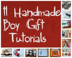 Boys Will Be Boys . . . So Hand Make Their Toys: Wrap Up of a hand made gift series for boys