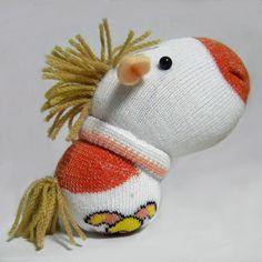 Muñeco hecho con un calcetín
