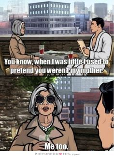 Archer: Holy Shitsnacks I love this show! Archer Tv Show, Archer Fx, Archer Meme, Archer Quotes, Sterling Archer, Danger Zone, Just For Laughs, Best Shows Ever, Best Tv