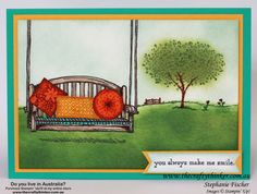 Sneak Peek new Annual Catalogue - Sitting Here by Tephie - Cards and Paper Crafts at Splitcoaststampers