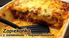 Zapiekanka z ziemniakami i mięsem mielonym   smaczne-przepisy.pl