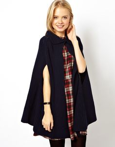 Buy ASOS Cape Cardigan at ASOS. With free delivery and return options (Ts&Cs apply), online shopping has never been so easy. Get the latest trends with ASOS now. Cashmere Cardigan, Sweater Cardigan, Coats For Women, Jackets For Women, Asos Tops, Cardigan Sweaters For Women, Fall Sweaters, Cardigans, European Fashion