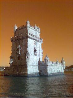 Torre de Belém, fortress, UNESCO Heritage Site, Portugal