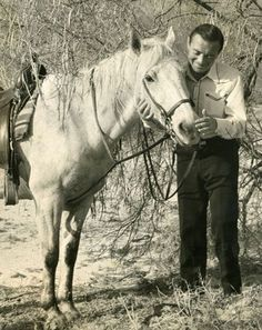 0 peter lorre and white horse