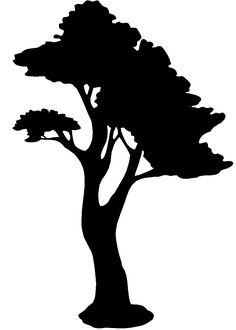 silhouette art | SilhouettePlant Clipart Page 1