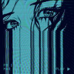 #anotherkind #another #kind #vaporwave Aesthetic Grunge, Blue Aesthetic, Aesthetic Anime, Foto Fantasy, Arte Cyberpunk, Japon Illustration, Glitch Art, Retro Futurism, Grafik Design