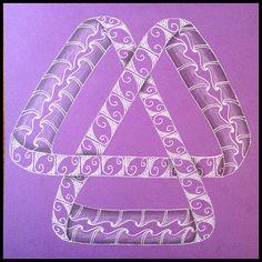Tangled Tuesday No. 74 - blog post by Laurel Regan at Alphabet Salad.