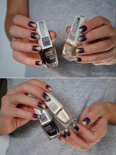 Golddigger nail art
