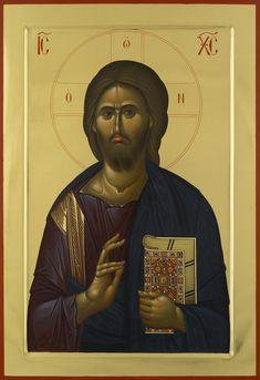 Christ Pantocrator, Jesus Christ Superstar, Christ The Redeemer, Byzantine Icons, Orthodox Christianity, Art Icon, Assemblage Art, Religious Art, Fresco