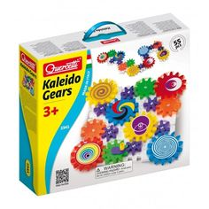 Create a wonder by spinning the Gears! Fun Kaleido Gears is a 55 piece set with interlocking plates and decorated meshing gears. The set includes gears in three sizes and a handle. Lidl Online Shop, Gear 3, Possible Combinations, Thing 1, Toys Online, Learning Resources, Building Toys, Toys For Boys, Kids Toys