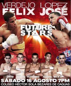 Future Stars este sábado 16 de agosto. Consigue tu entrada en Ticket Center www.tcpr.com