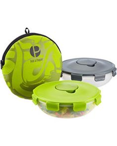 This clever salad container has a built-in holder for dressing. Buy it here: http://www.bhg.com/shop/the-container-store-salad-to-go-p506c1ede82a712f3e7b74913.html
