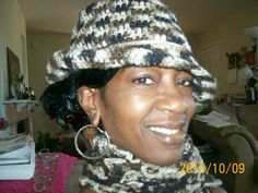 Crochet Brimmed Hats! & Scarfs Sets/Seperates.  $25.00 ea pc.  $50.00 per set