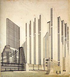 Mario Chiattone, Italian Futurist architect