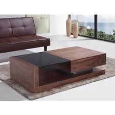 Beliani Porto Contemporary Coffee Table With Gl Top