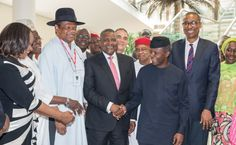 Photo: Dangote Others Get Appoint From Osinbajo