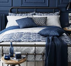 Bedroom - Indigo Blue