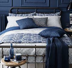 Bedroom - Indigo Blue