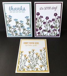 Catalina's Cards : Wild About Flowers Stamp Set
