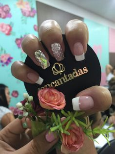 Cool, Nails, Floral, Beauty, Finger Nails, Pedicures, Nail Designs, Fingernail Designs, France