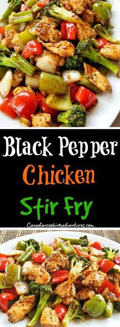 7093a2946a98 Black Pepper Chicken Stir Fry  black  pepper  chicken  stirfry  asian