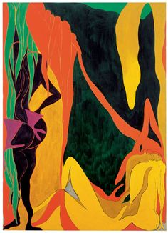 Chris Ofili - raising of lazarus, 2007