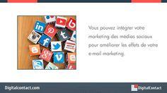 http://DigitalContact.com - Les médias sociaux peuvent allonger vos listes de diffusion. Découvrez comment vous pouvez utiliser les médias sociaux pour formuler une meilleure stratégie de marketing par courriel!  Envoyez jusqu'à 12.000 courriels par mois! Aucun contrat ou carte de crédit requis. Obtenez un compte gratuit - http://DigitalContact.com