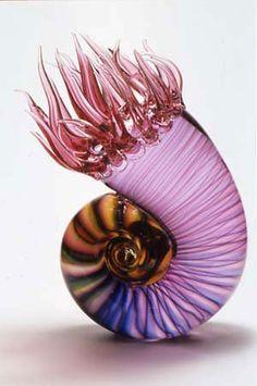 Gorgeous  glass sea creature