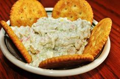 Make a creamy Crab Dip Appetizer for your party! Our Crab Dip Appetizer is so creamy because it is made from real cream cheese and the best crab meat. Appetizer Dips, Appetizers For Party, Appetizer Recipes, Tapas, Crab Dip Recipes, Hot Crab Dip, Mayonnaise, Le Diner, Food And Drink
