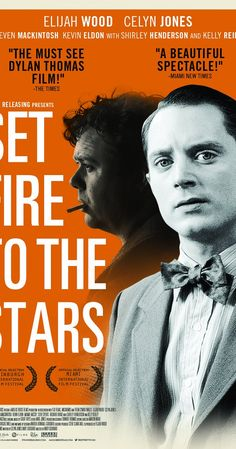 Directed by Andy Goddard.  With Elijah Wood, Celyn Jones, Kelly Reilly, Steven Mackintosh. An aspiring poet in 1950s New York has his ordered world shaken when he embarks on a week-long retreat to save his hell raising hero, Dylan Thomas.