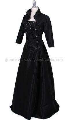black mother of the bride dress  not in black