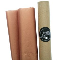 Copper Rose Gold Tissue Paper (20 Sheets) Metallic Tissue – 500mmx760mm