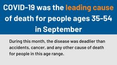 This updated analysis finds that in September 2021, COVID-19 ranked as the 2nd leading causes of death in the U.S., up from 8th in July, due to the more infectious Delta variant, insufficient vaccination, and reduced social distancing. An estimated 90,000 deaths from COVID-19 since June could have been prevented with vaccines. Work Search, Family Foundations, Mortality Rate, Health Insurance Plans, National Health, Number Two, September, Death, How To Plan