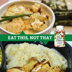Cauliflower puree offers a great taste and texture similar to mashed potatoes but without all those carbs. Add it as a side dish to your favorite sandwich or any dinner dish.